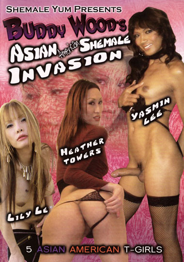 Buddy Wood's Asian American Shemale Invasion
