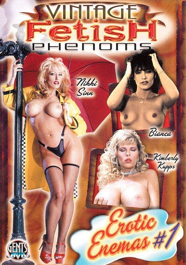 Vintage Fetish Phenoms: Erotic Enemas