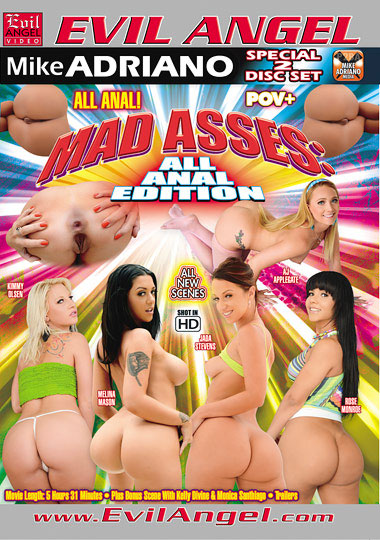 Mad Asses: All Anal Edition Part 2