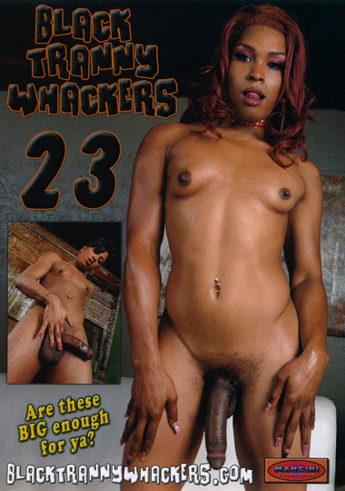 Black Tranny Whackers 23