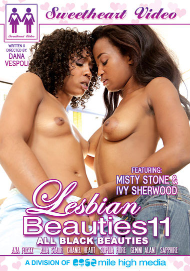 Lesbian Beauties 11: All Black Beauties