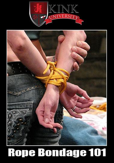 Kink University: Rope Bondage 101