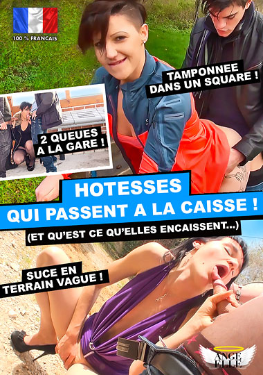 Hotesses Qui Passent A La Caisse