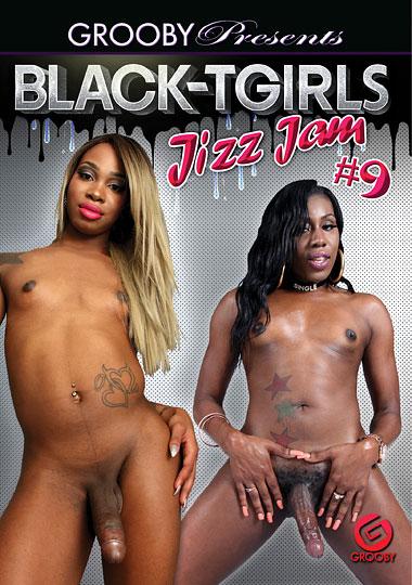 Black-Tgirls Jizz Jam 9