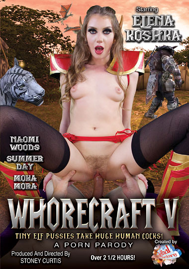 Whorecraft 5: Tiny Elf Pussies Take Huge Human Cocks