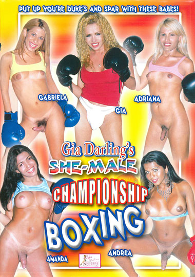 Gia Darling's Shemale Championship Boxing