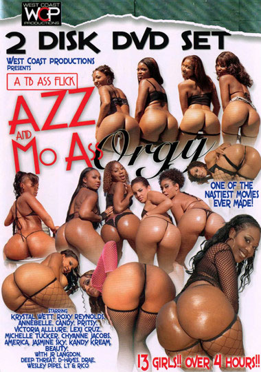 Azz And Mo Ass Orgy: Part 2