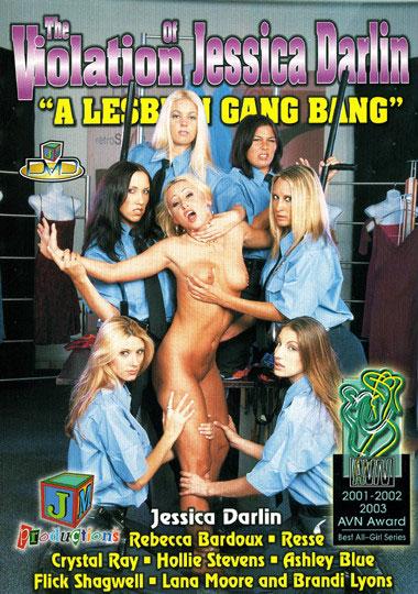 The Violation Of Jessica Darlin: A Lesbian Gang Bang